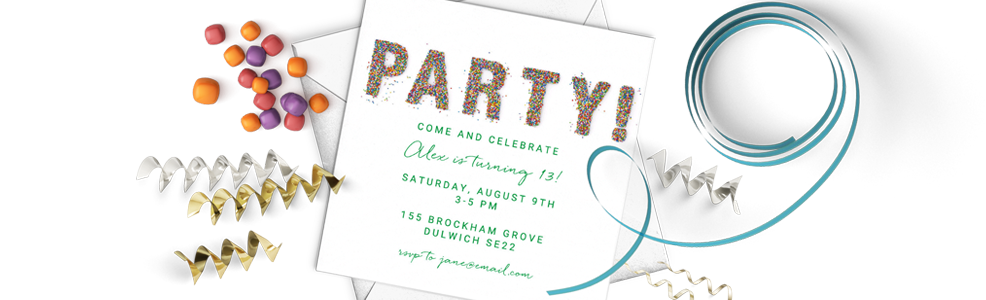 All Adult Party Invites
