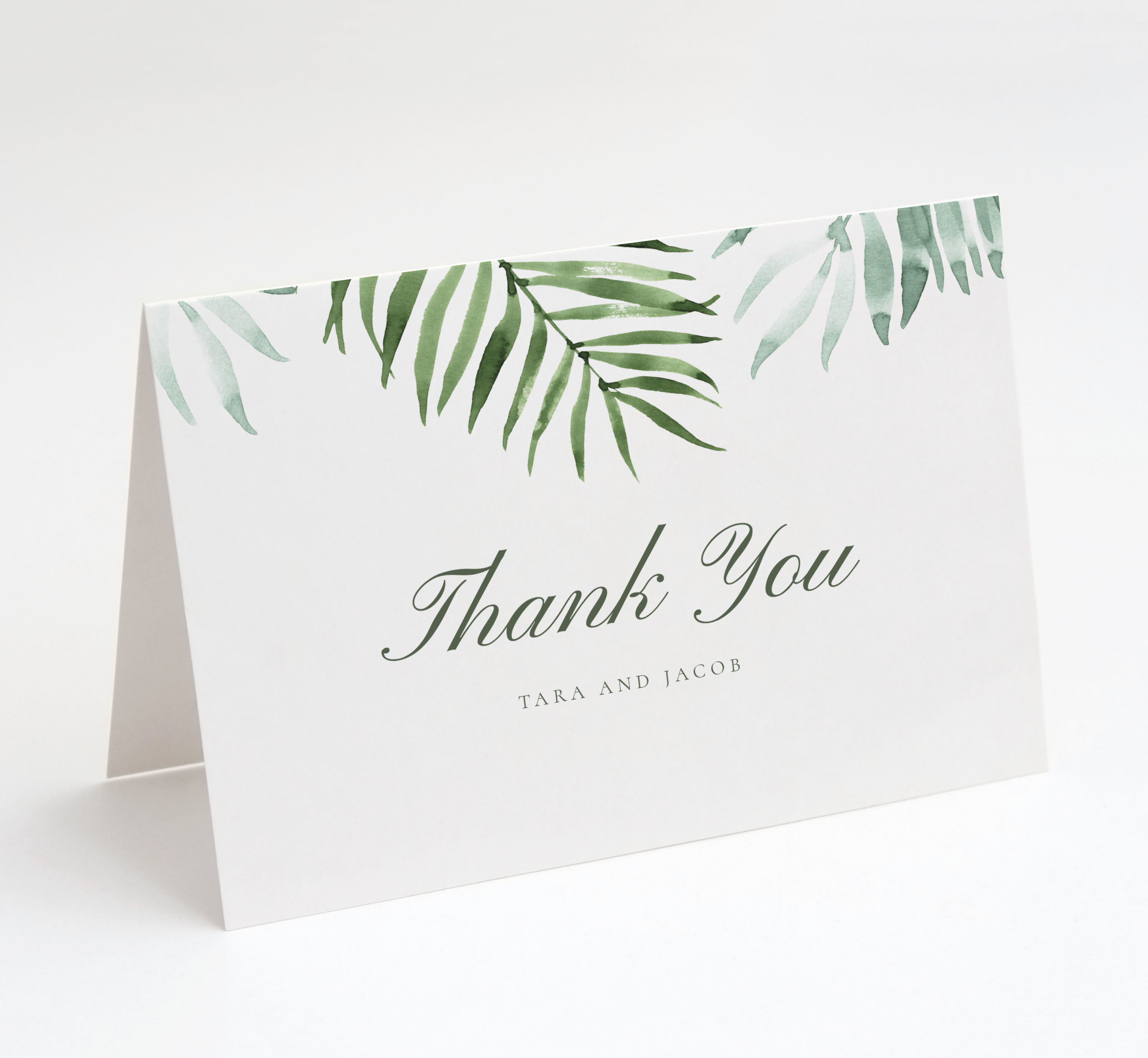 Palm Beach Thank You Card