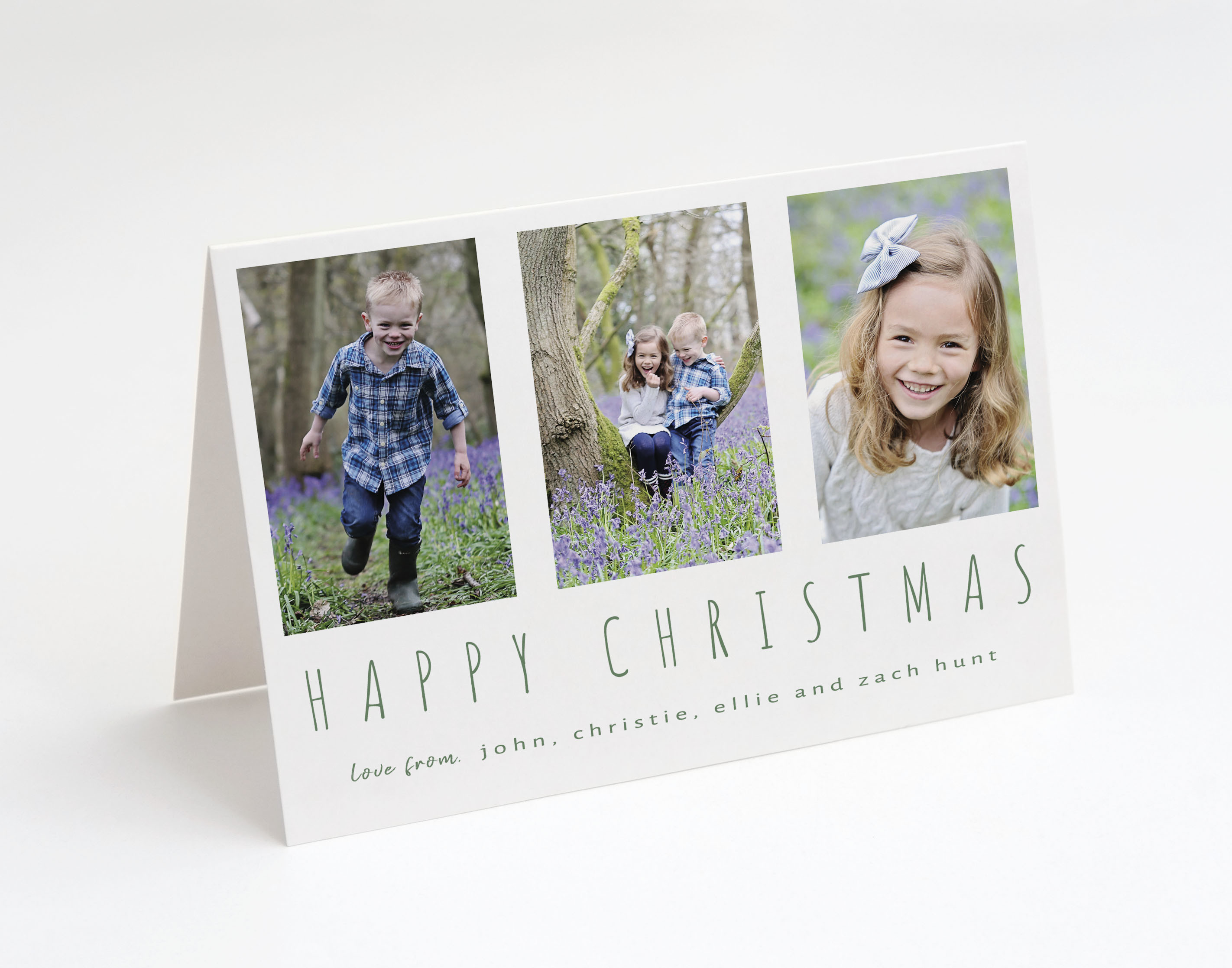 Multiframe Holiday Card