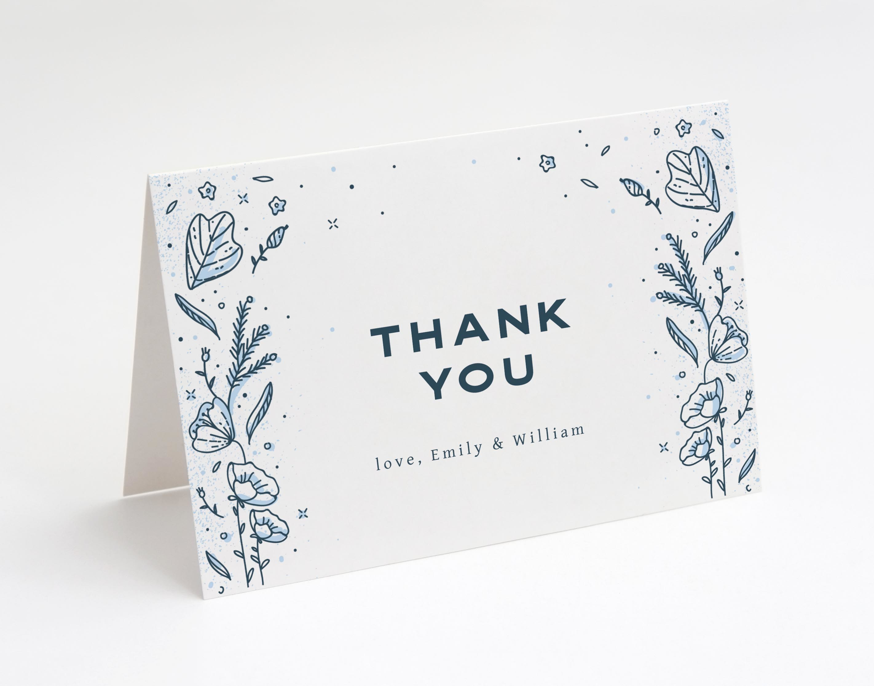 Coastal Meadow Thank You Card