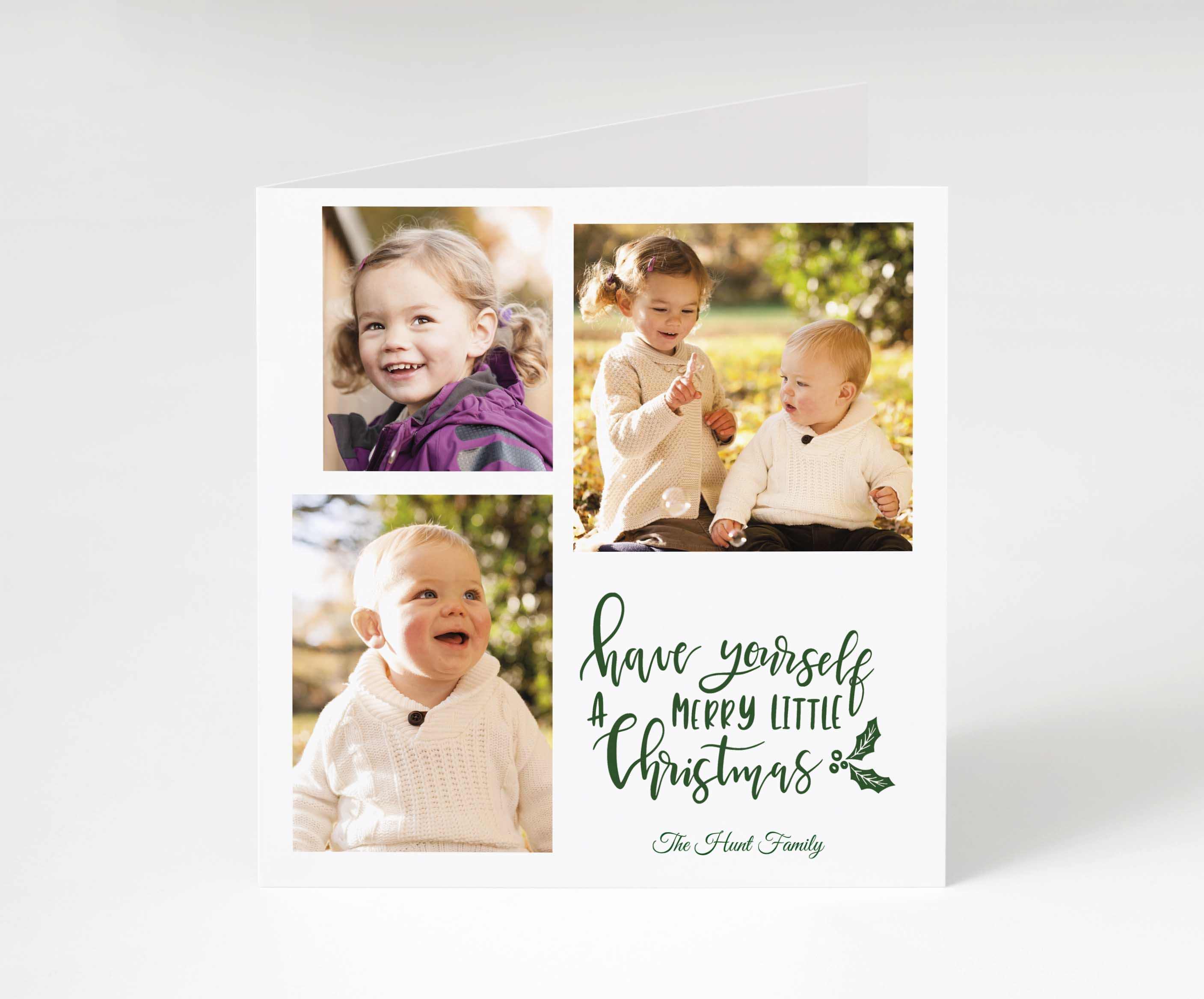 A Merry Little Christmas Card