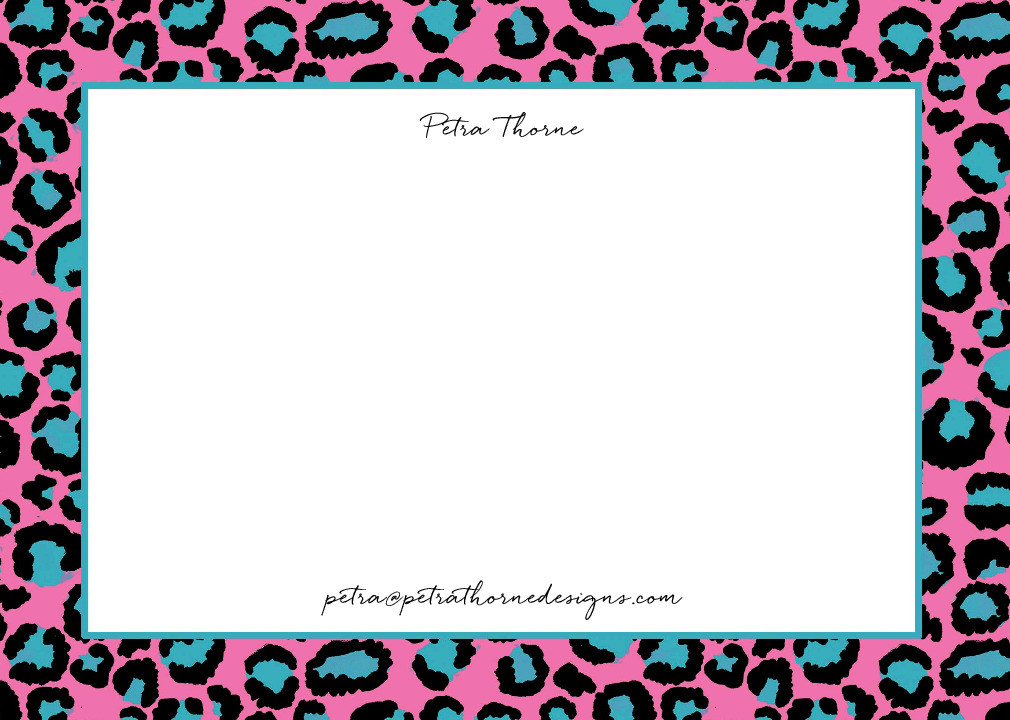 Wild One Notecard Set