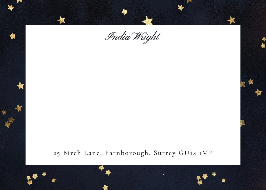 Starry Night Notecard Set
