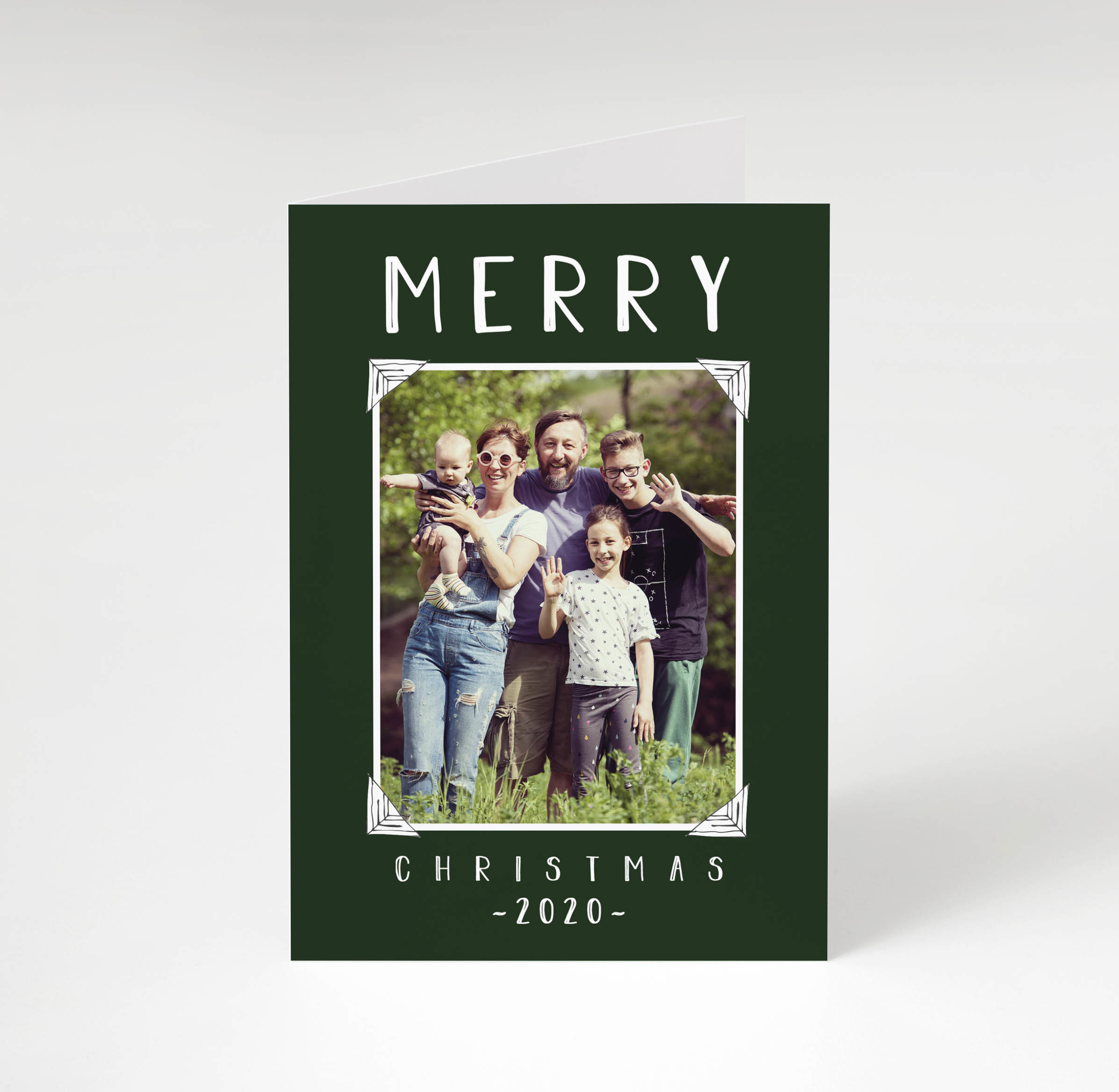 Scrapbook Christmas Card