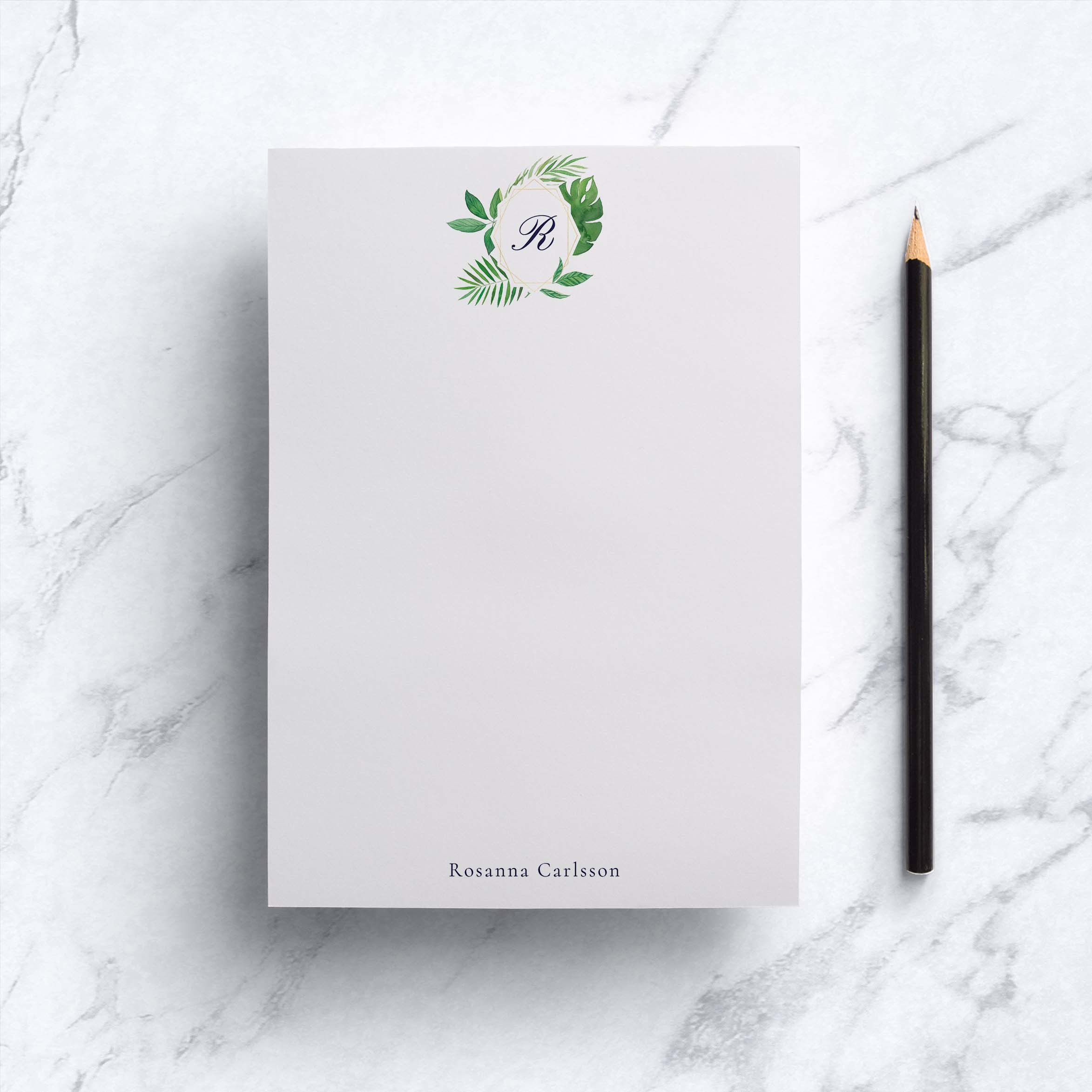 Tropic Frame Notepad