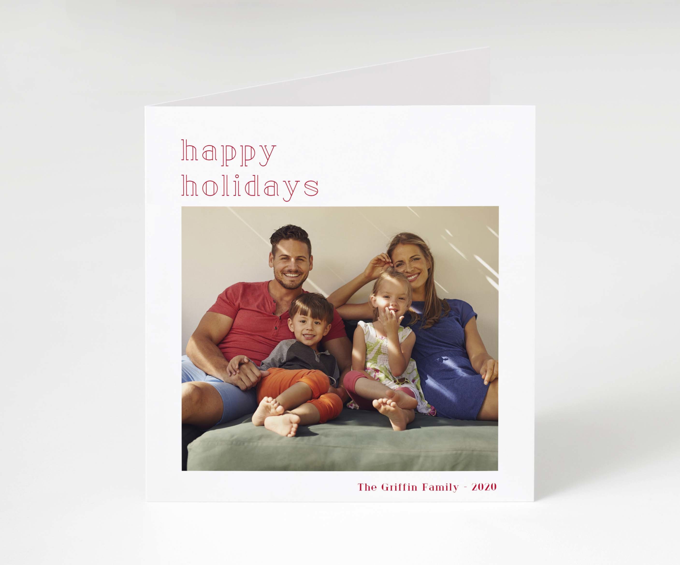 Contemporary Holidays Card