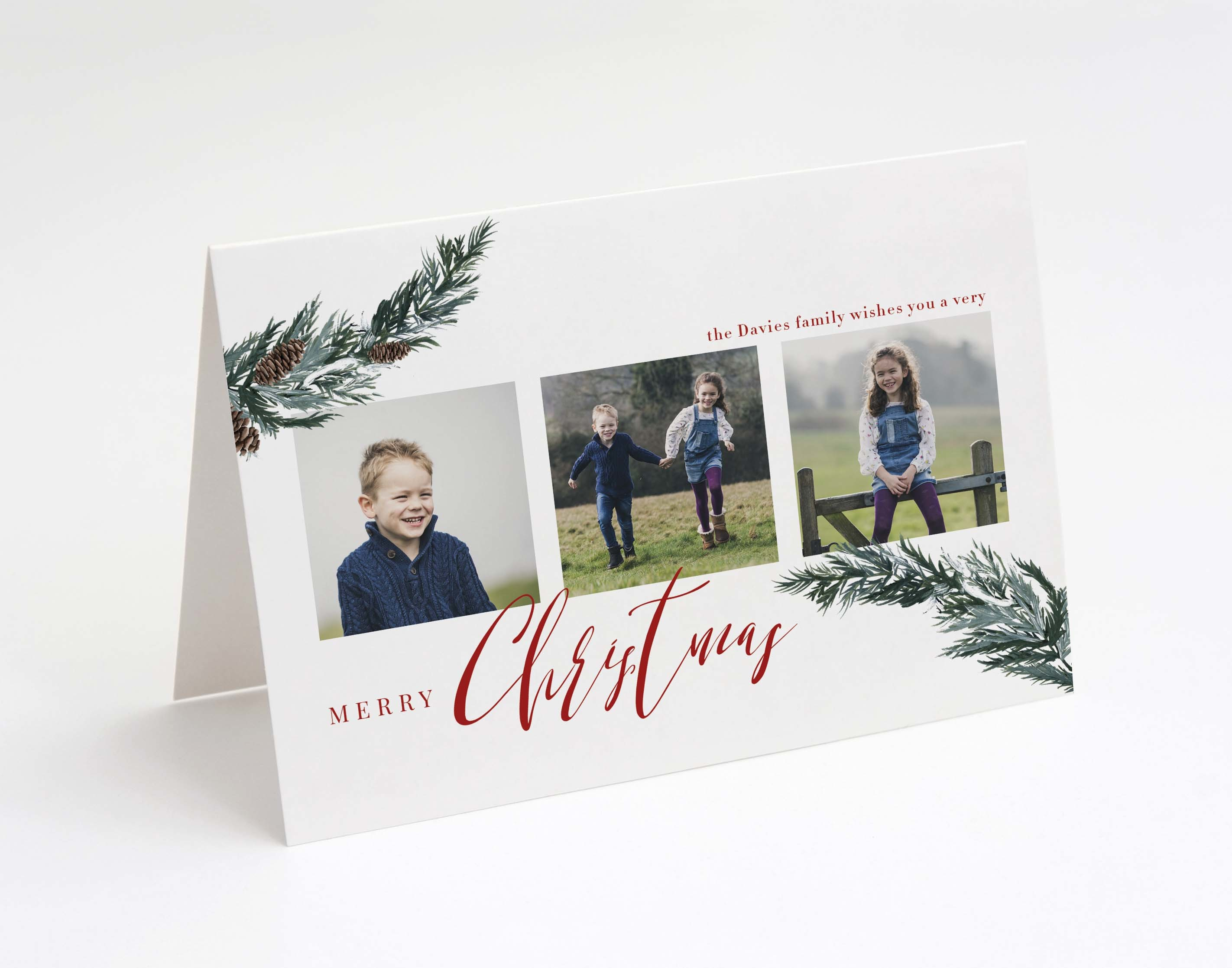 Forest Fir Christmas Card