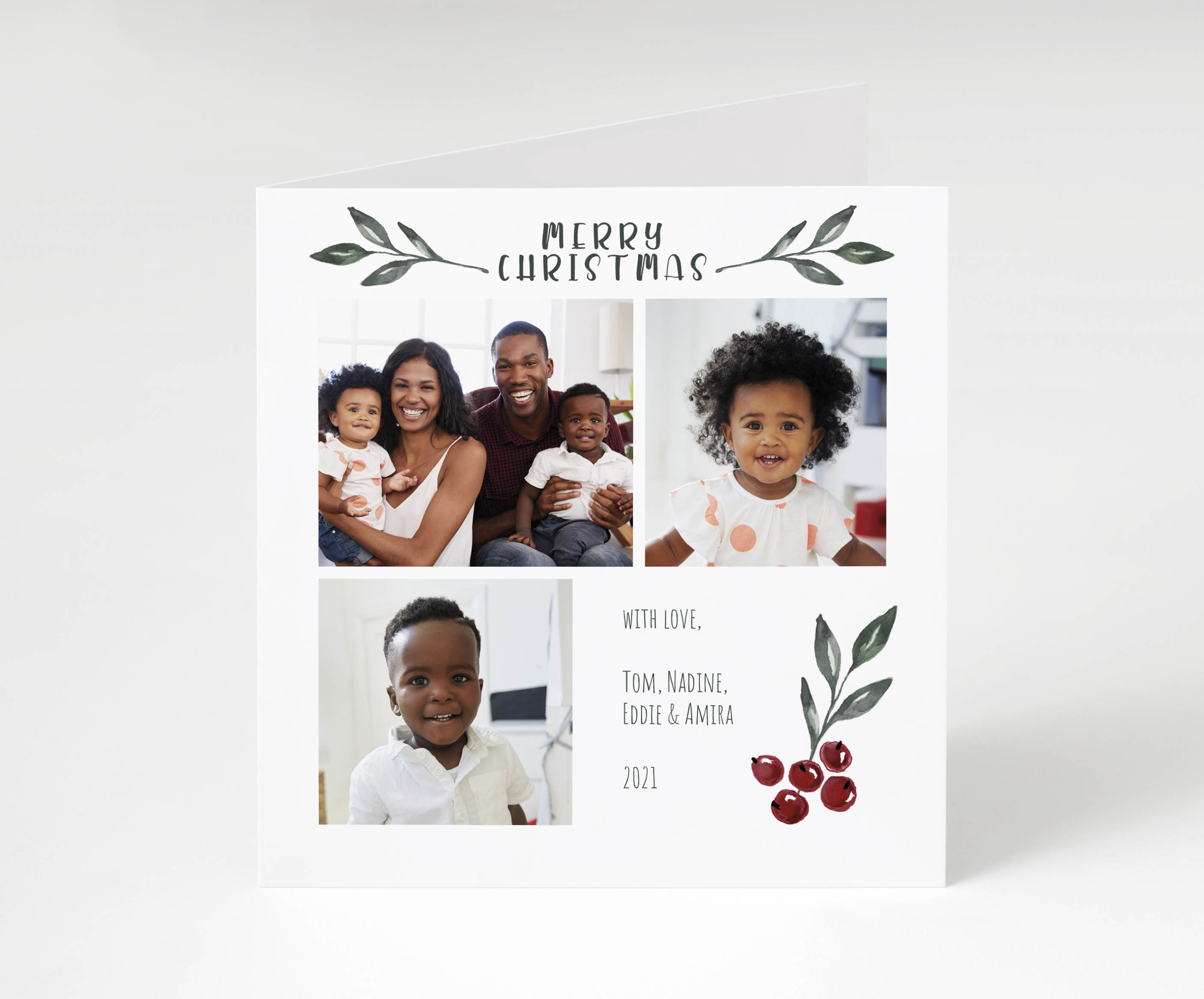 Merry Memories Holiday Card