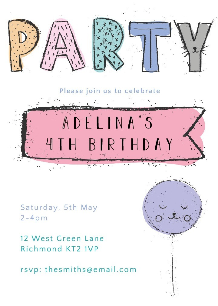 Party Party Invitation